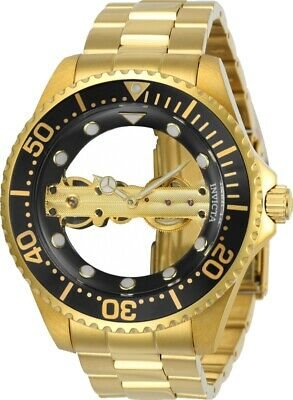 Invicta 24694 Mens Pro Diver 47mm Mechanical Black Dial Watch