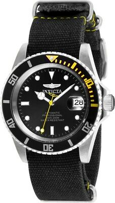 Invicta 27624 Pro Diver Mens 42mm Automatic Stainless Steel Black Dial Watch