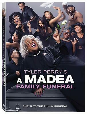 Tyler Perrys A Madea Family Funeral DVD 2019 Fast Free Shipping Now