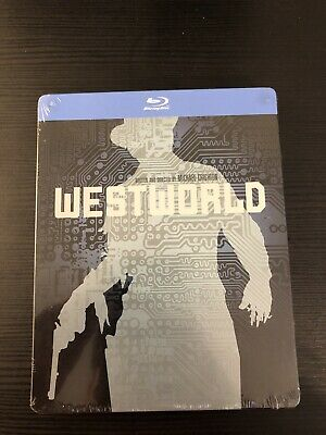 WESTWORLD STEELBOOK 1973 Region-Free Blu-Ray Read - Dent