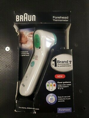 Braun Forehead Thermometer BFH175 New