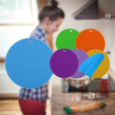 4pcs Extra Thick Silicone Trivet Mat Silicone Pot Holders Hot Pads Non-slip Mat