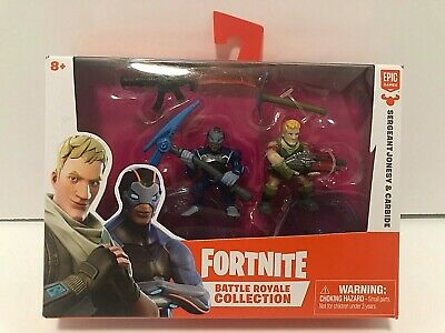 Fortnite Battle Royale Collection Duo Pack SERGEANT JONESY - CARBIDE Figures