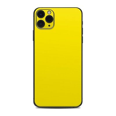 iPhone 11 Pro Max Skin - Solid Yellow - Sticker Decal