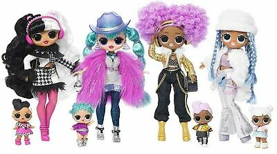 LOL Surprise OMG Winter Disco Fashion Doll Snowlicious Cosmic Nova Dollie 24K DJ