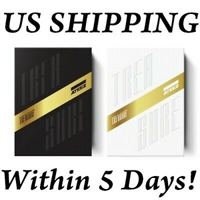 UsShipping Ateez Treasure EP-FinAll To Action Album CD-Poster-etc-PreOrder