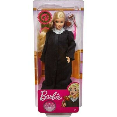 JUDGE BARBIE DOLL FASHIONISTAS NEW CAREER