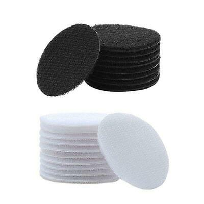 5 pcs Double Sided Strong Self Adhesive Hook and Loop Tape Sticker Back Fastener