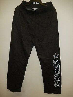0522  Mens Licensed DALLAS COWBOYS Authentic TEAM Jersey SWEATPANTS GRAY NEW