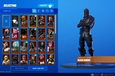 Bid black night account or purchase for Buy Fortnite Chapter 2 Raffle Online