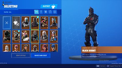 Fortnite Account with STW Limited Edition and Black Knight