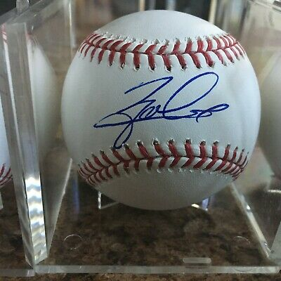 Zack Collins Signed Rawlings Official MLB Baseball Chicago White Sox