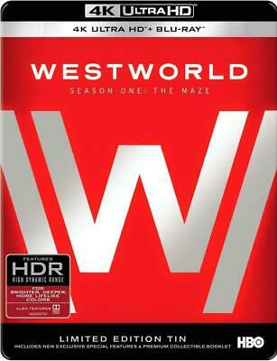 Westworld The Complete First Season 4K Ultra HD Limited Edition Blu-ray