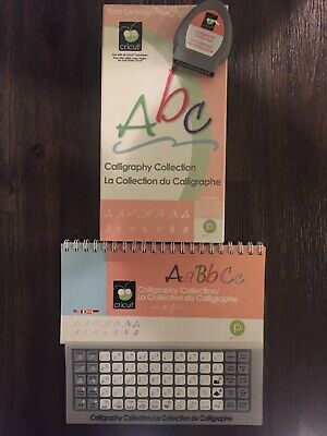Cricut Cartridge CALLIGRAPHY COLLECTION - Gently Used - Complete Unknown Link