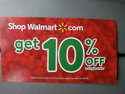 Walmart-com 10 Off Coupon Max 20 off discount expr on Jan 15th 1 hr delivery