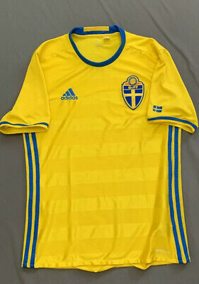 2016 Sweden World Cup Soccer  Football Jersey Mens Small
