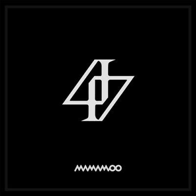US SHIPPING Mamamoo Reality In Black 2nd Album CD-Poster-Booklet-Lenticular-Card