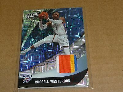 2018 Panini Black Friday RUSSELL WESTBROOK JERSEY PATCH THUNDER ROCKETS 20 2077