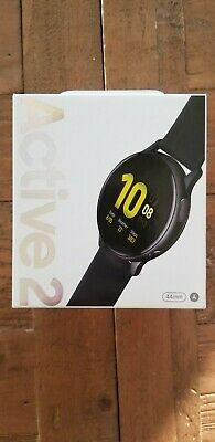 Samsung Galaxy Watch Active2 Aluminum Aqua Black Free Shipping