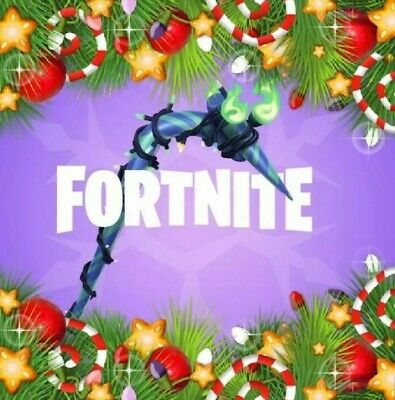 Fortnite Minty Pickaxe Code Card ❄⛏🎄 FAST DELIVERY Works on all Platforms