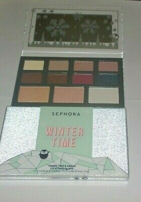 Sephora Winter Time Eyeshadow and Face Palette - New in Box