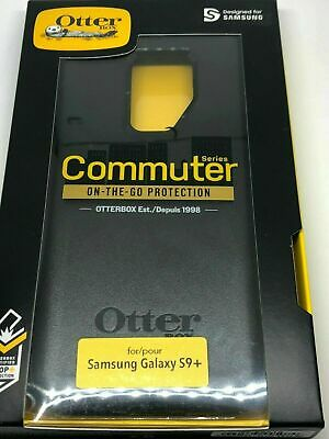 OtterBox Commuter Series Phone Case for Samsung Galaxy S9 Plus - Black