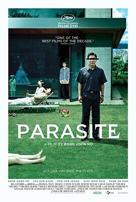 Parasite movie poster b - 11 x 17 inches - Bong Joon Ho