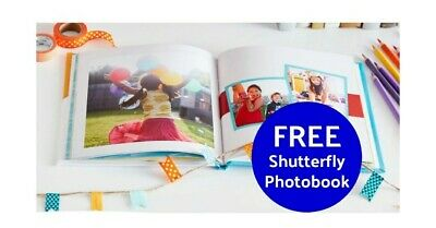 Shutterfly 8X8 Hard Cover Photo Book Code expires 7312020