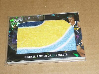 2018 Panini Black Friday MICHAEL PORTER JR CRACKED ICE TOWEL NUGGETS 35 K2075