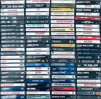 You Pick Cassette Tapes Lot Classic Rock 60s 70s Rolling Stones -Discounts-