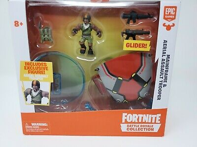 Fortnite Battle Royale Collection Mainframe and Aerial Assault Trooper FAST SHIP