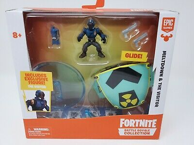 New Fortnite Battle Royale Collection Meltdown - The Visitor Set FAST SHIPPING