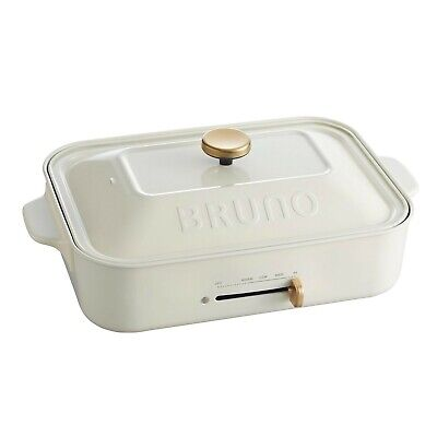 BRUNO compact hot plate BOE021-WH Japan Domestic AC100