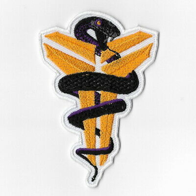 NBA Los Angeles Lakers Iron on Patches Embroidered Patch Kobe Bryant Black Mamba