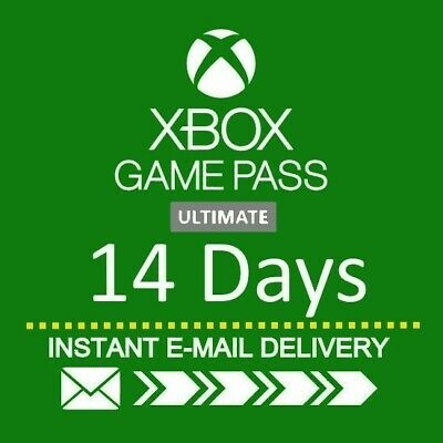 XBOX LIVE 14 Day GOLD - Game Pass Ultimate Trial Code INSTANT DISPATCH