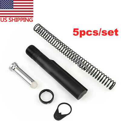 5PCS Mil-Spec 6-Position Tube Spring Assembly