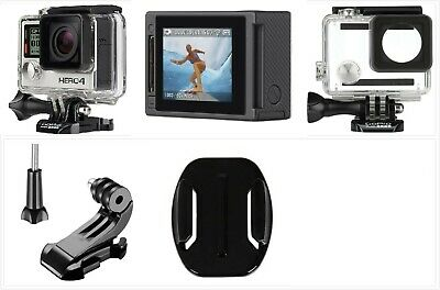 Used GoPro HERO 4 Silver 4K HD Action LCD touch screen WiFi Camera Waterproof US