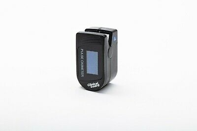 ClinicalGuard CMS-500S Fingertip Pulse Oximeter with Heart Rate Tracker