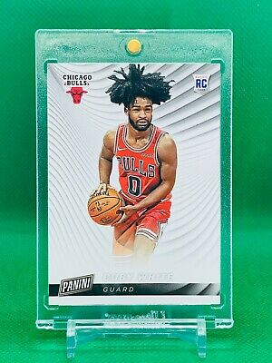 2019-20 Panini Cyber Monday Coby White Rookie Chicago Bulls RC8