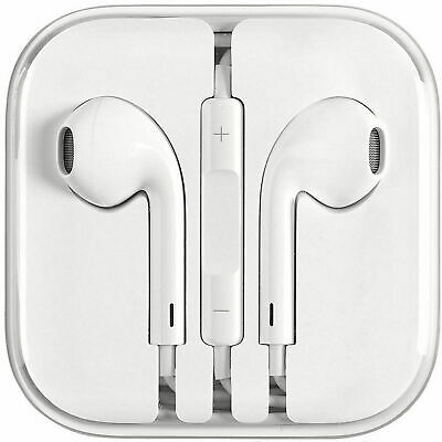 Apple Authentic EarPods 🍎 Mic - Remote Brand New 3-5mm 🎧 Headset Headphones