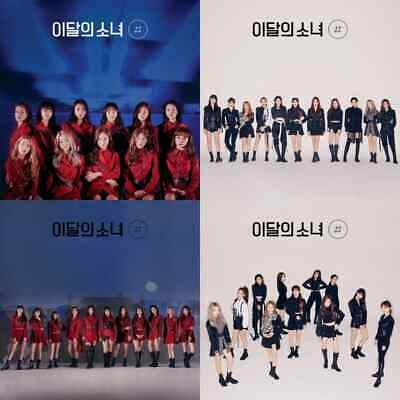 US SHIPPING Monthly Girl Loona-Hash 2nd Mini Album CD-Booklet-Card