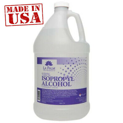La Palm 70 Isopropyl Alcohol Lapalm- 1 Gallon- SEALED- Made in USA-