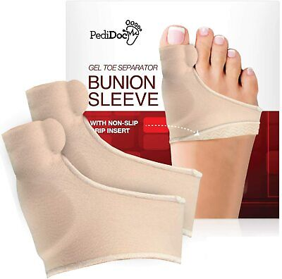 Bunion Corrector Gel Pad Relief Sleeves Top Quality with Durable Gel Toe Spacer