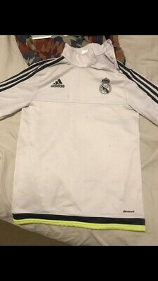 SIZE S REAL MADRID SPAIN 20152016 TRAINING FOOTBALL TRACK TOP JACKET SMALL RARE