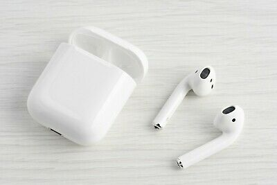 Apple AirPods 2nd Generation Wireless Earbuds - Charging Case MV7N2AMA H1 Chip