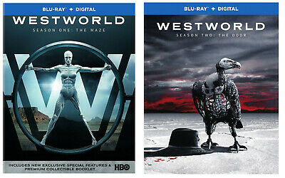 New Sealed Westworld - Season One The Maze - Season Two The Door Blu-ray 1 2