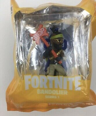 FORTNITE •BATTLE ROYALE COLLECTION• BANDOLIER• 2 Figure Epic Games• New In Box