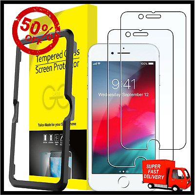 JETech Screen Protector for iPhone SE 2020 iPhone 87 iPhone 6s64-7 INCH