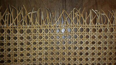 Caning Pre-woven Furniture Cane Web 24 Width - Natural BTF