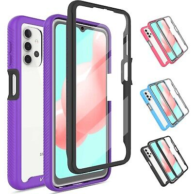 For Samsung Galaxy A71 5GA51 5G Slim Case Cover With Built-in Screen Protector